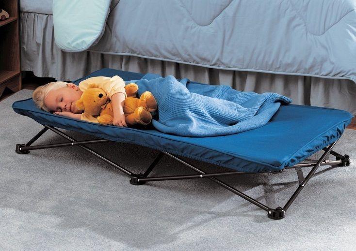 Folding Toddler Travel Bed
