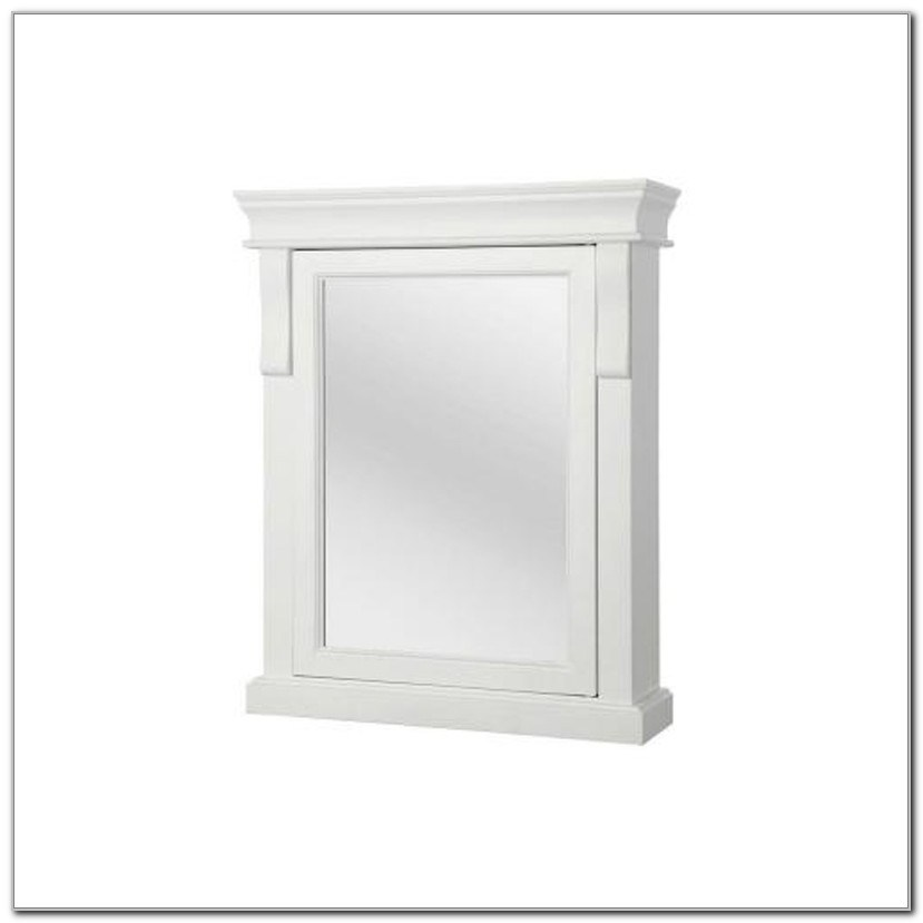 Foremost Naples Medicine Cabinet White