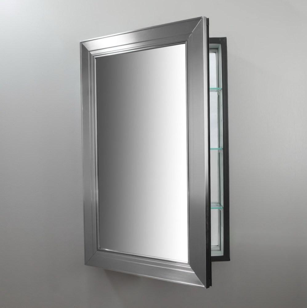 Framed Medicine Cabinet Mirror