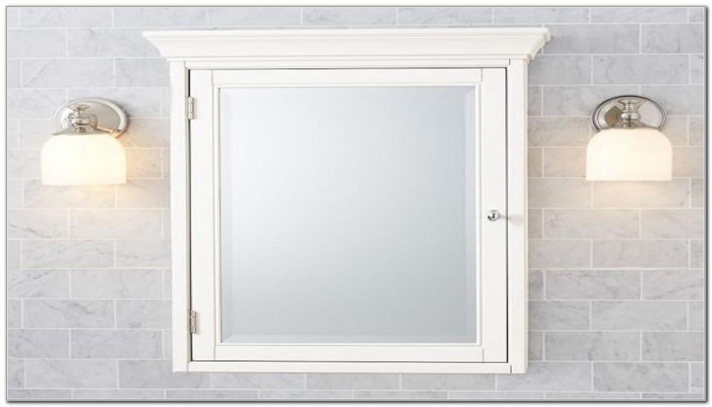 Framed Recessed Medicine Cabinet