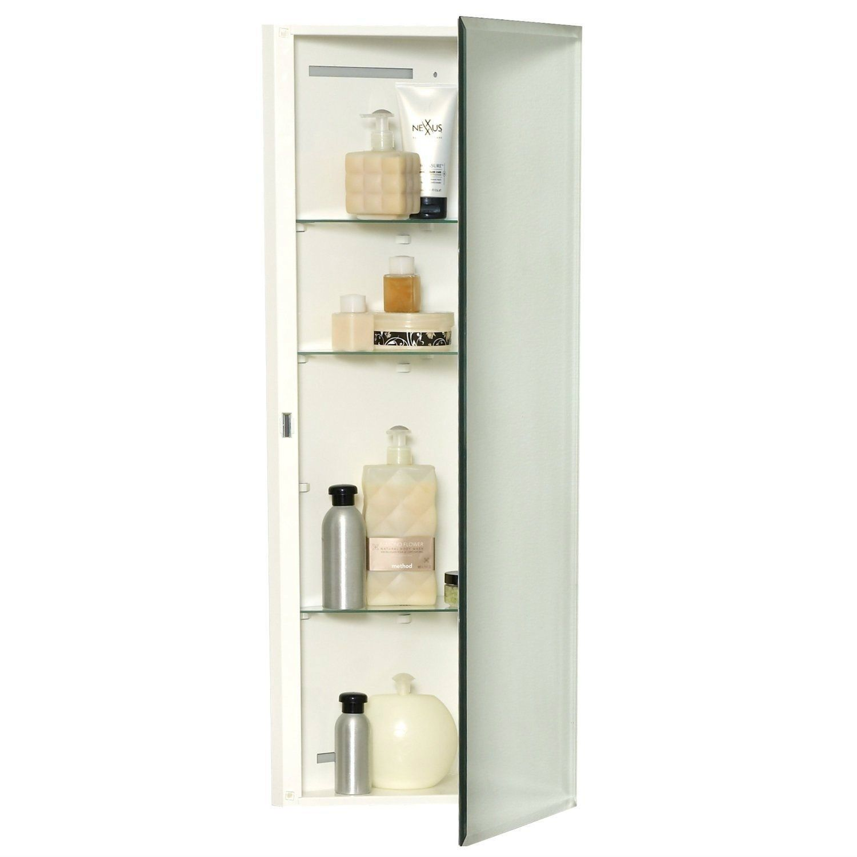 Frameless Medicine Cabinet Wall Mount
