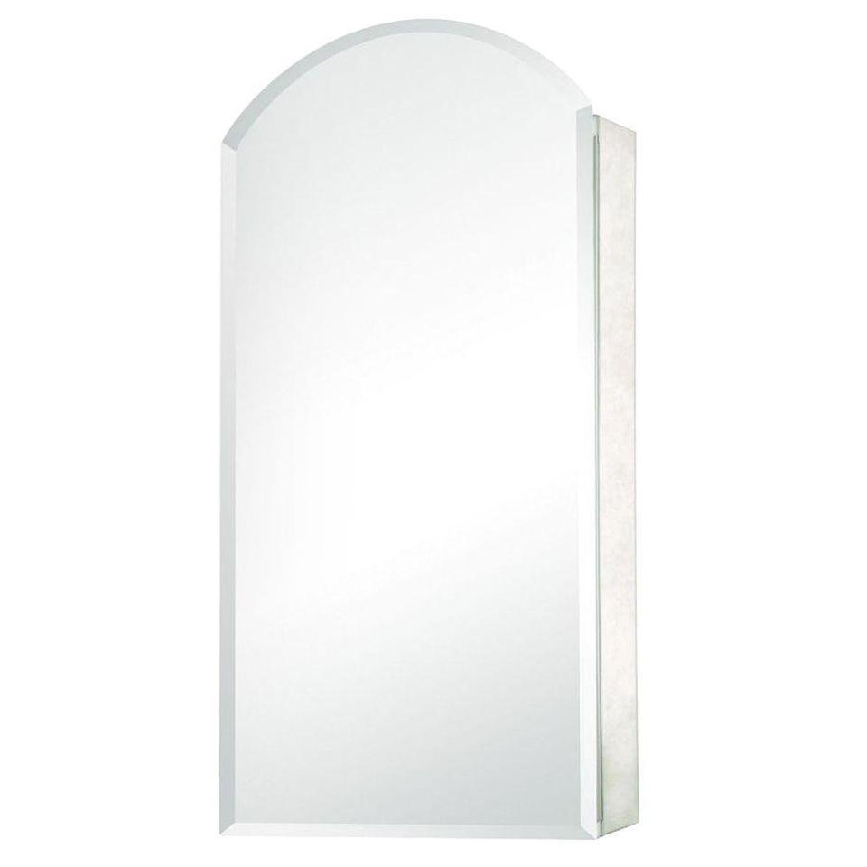 Frameless Mirrored Medicine Cabinet Surface Mount