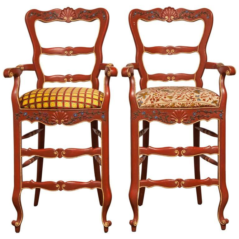 French Bar Stools For Sale
