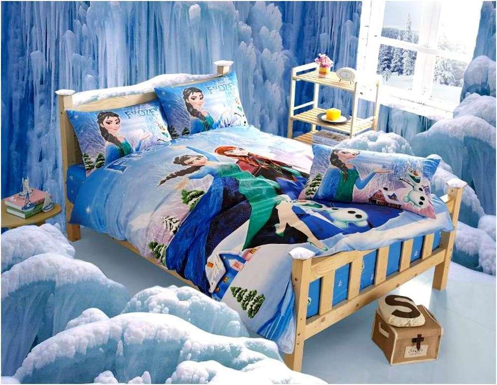 Frozen Toddler Bed Set Pink