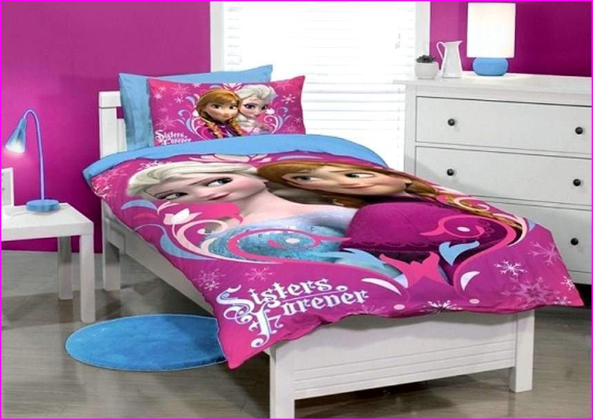 Frozen Toddler Bed Set