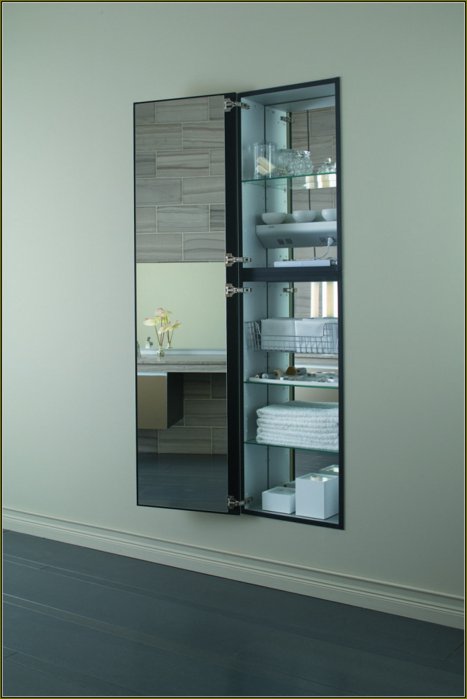 Full Length Medicine Cabinet Recessed