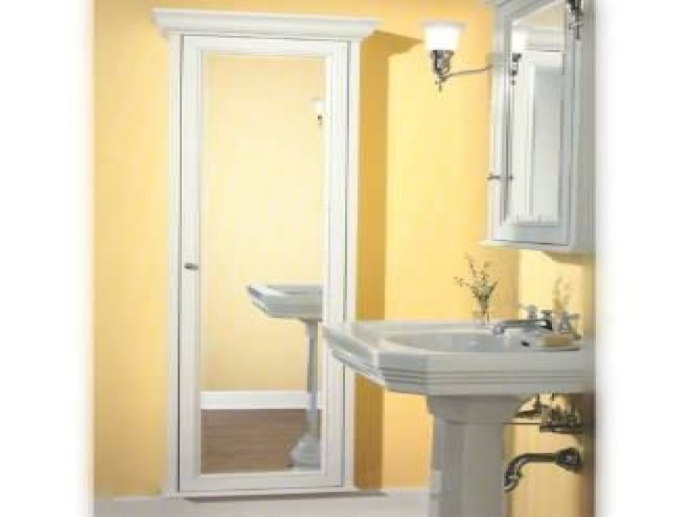 Full Length Mirror Recessed Medicine Cabinet
