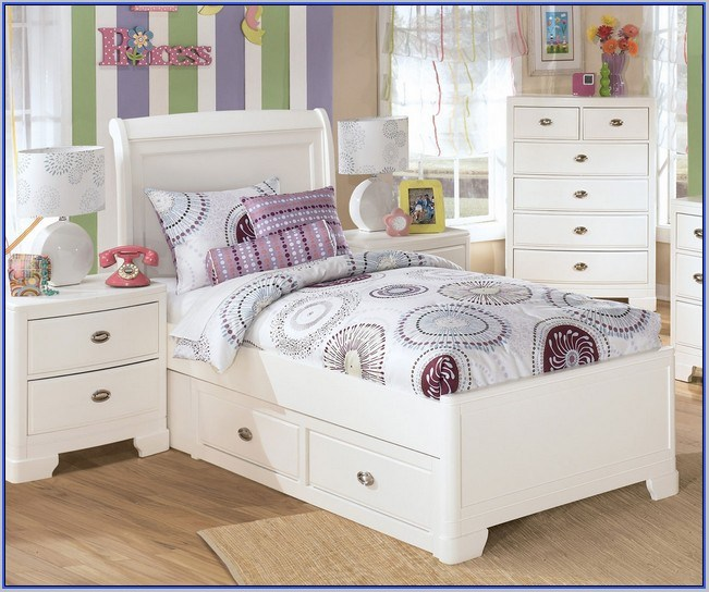 Full Size Girl Bed Frame