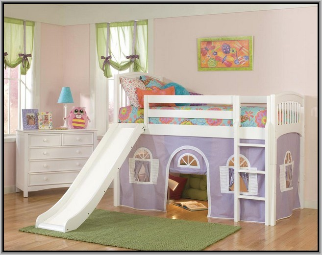 Fun Toddler Beds With Slides