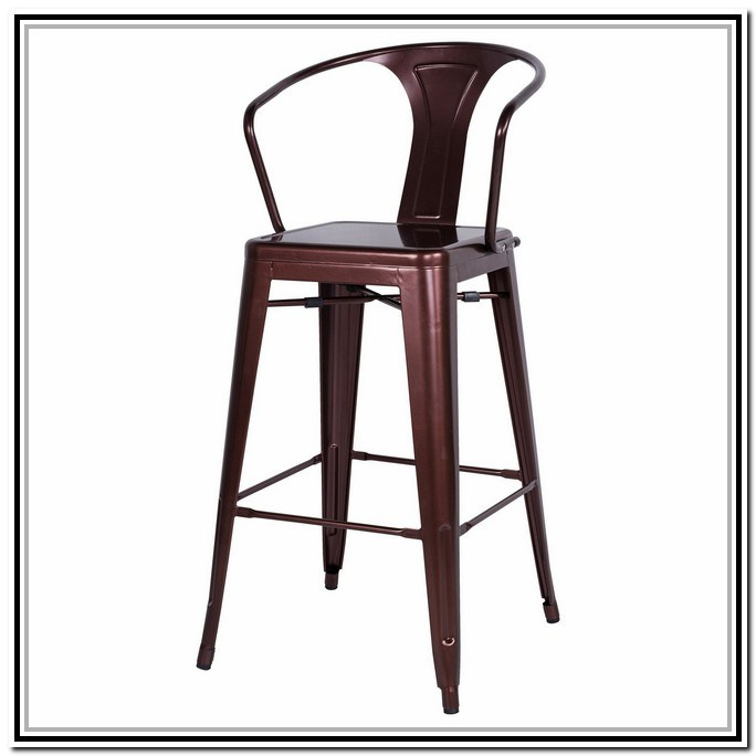 Galvanized Steel Bar Stools