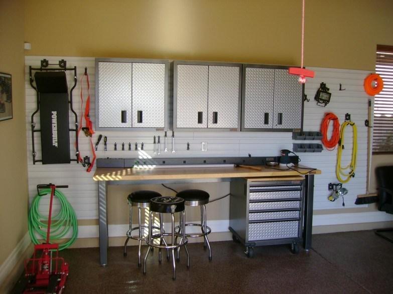 Garage Bar Stools And Table