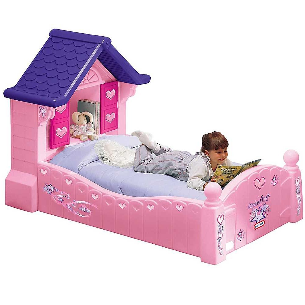 Girl Toddler Bed House
