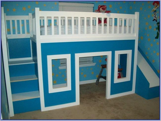 Girl Toddler Bed Slide
