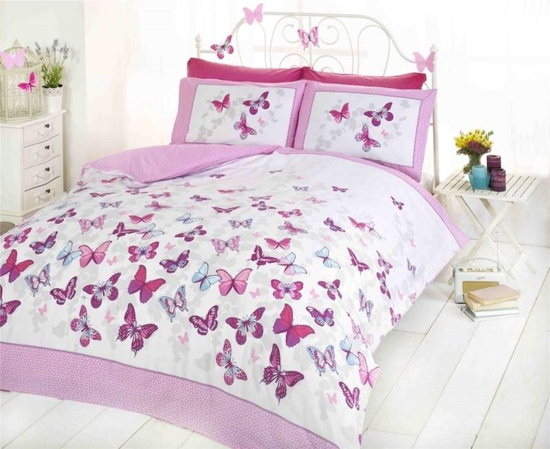 Girl Toddler Bedding Purple