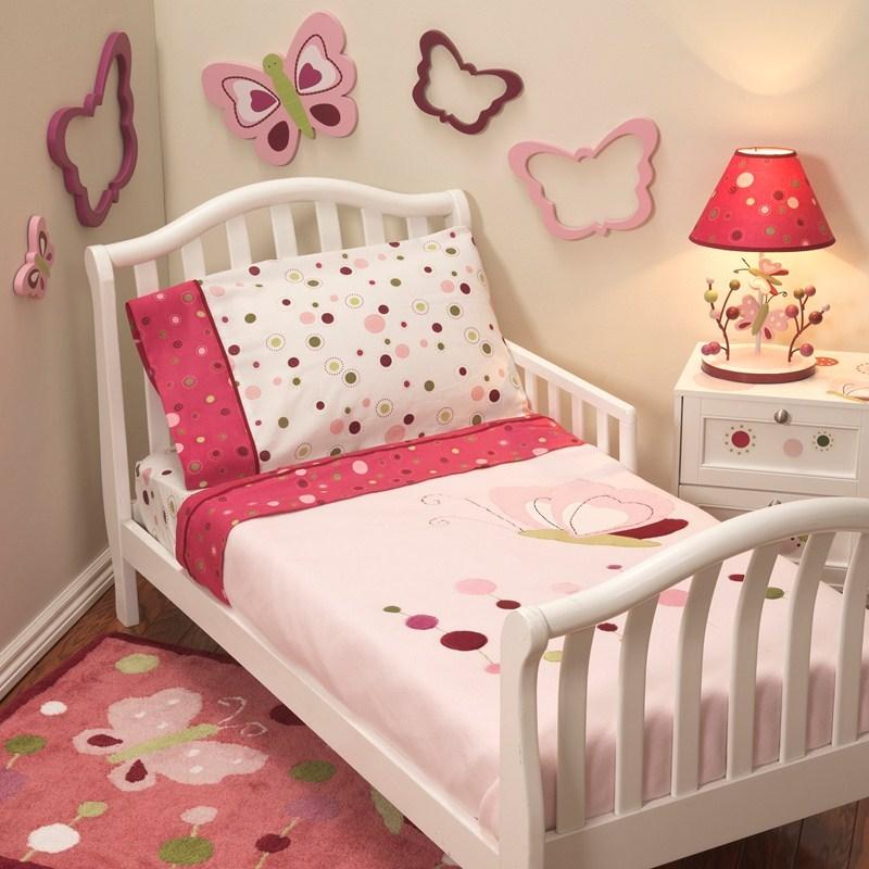 Girl Toddler Bedding Set