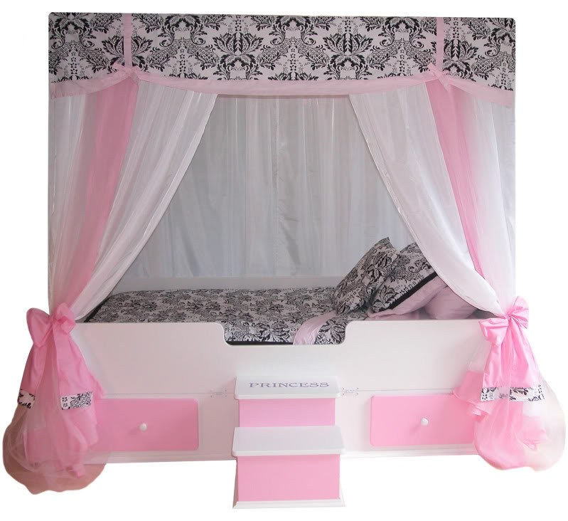 Girl Toddler Beds Canopy