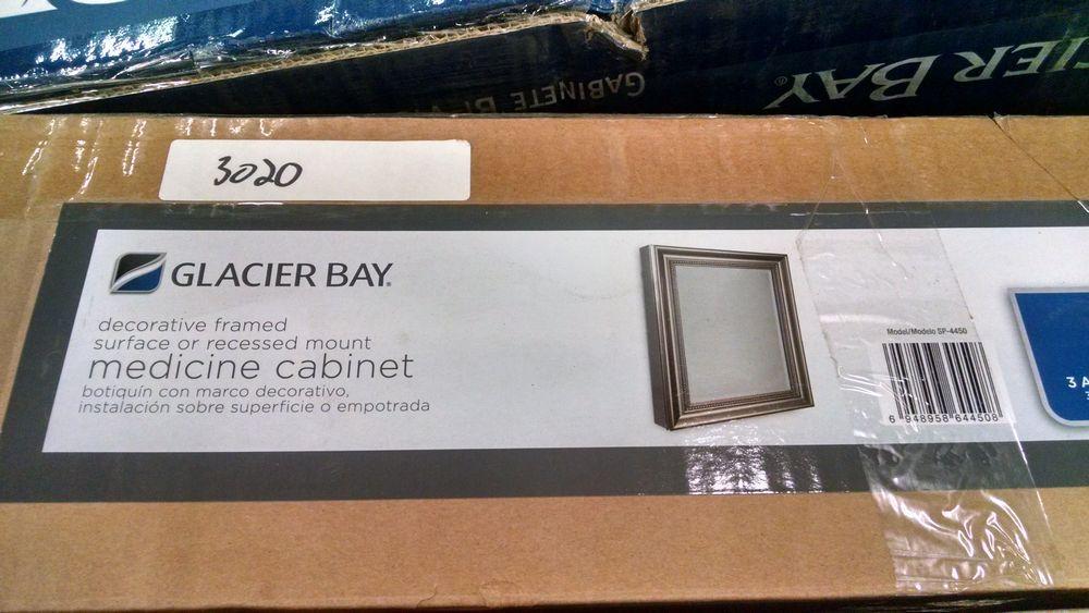 Glacier Bay Medicine Cabinet 24 X 30