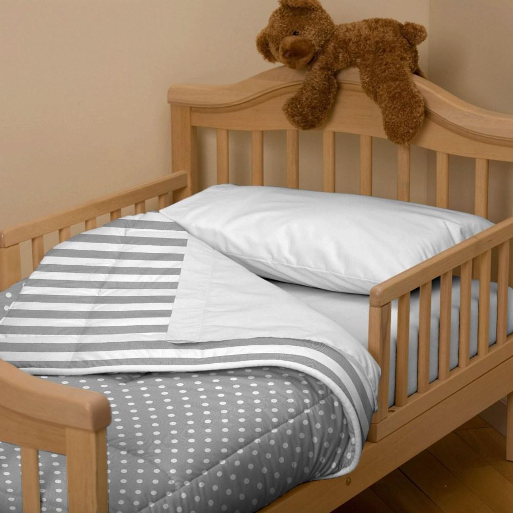 Gray Toddler Bedding