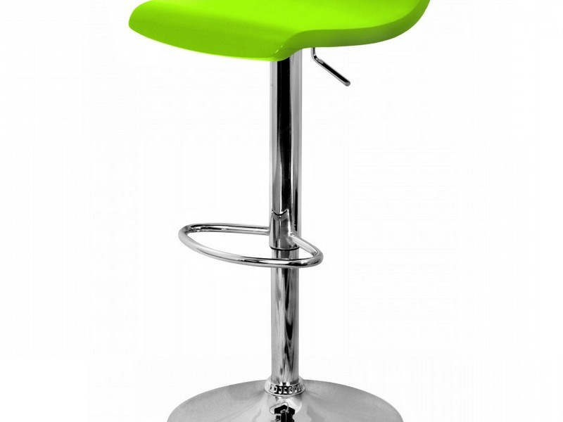 Green Bar Stools Leather