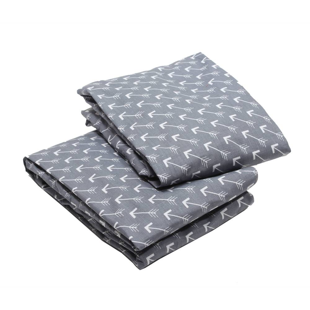 Grey Toddler Bed Sheets