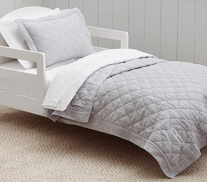 Grey Toddler Bedding