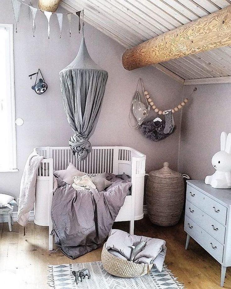 Grey Toddler Bedrooms