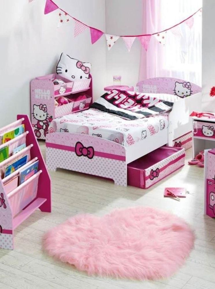Hello Kitty Toddler Bed Frame
