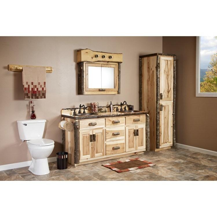 Hickory Wood Medicine Cabinet