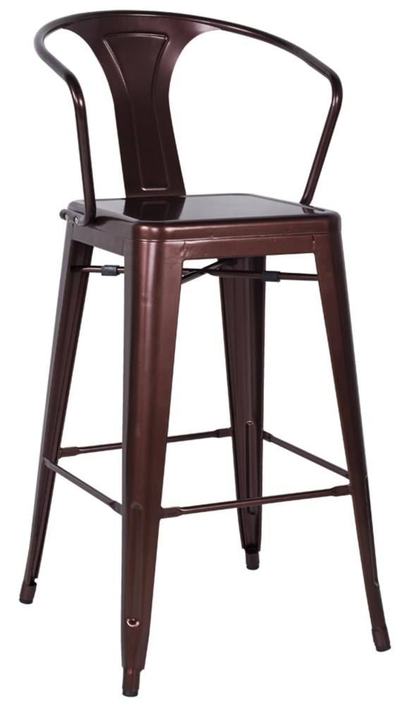 High Bar Stools With Backs