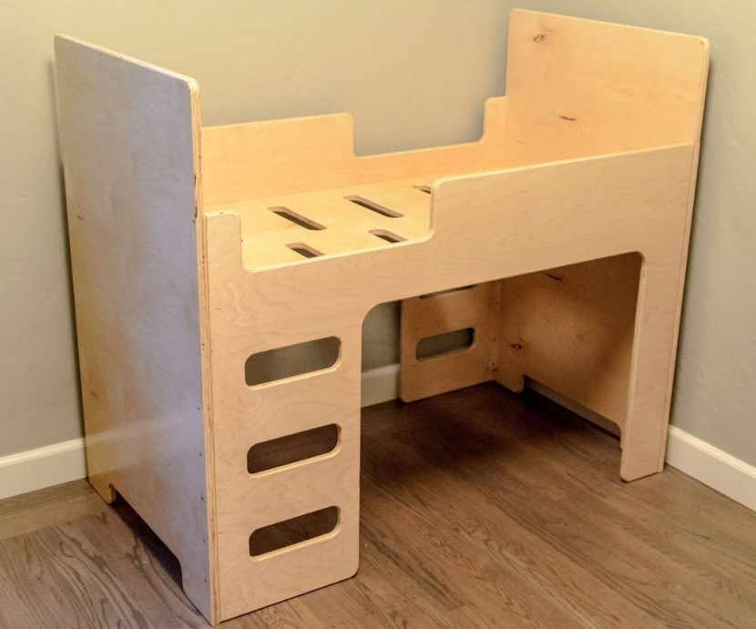 Homemade Toddler Bed Plans