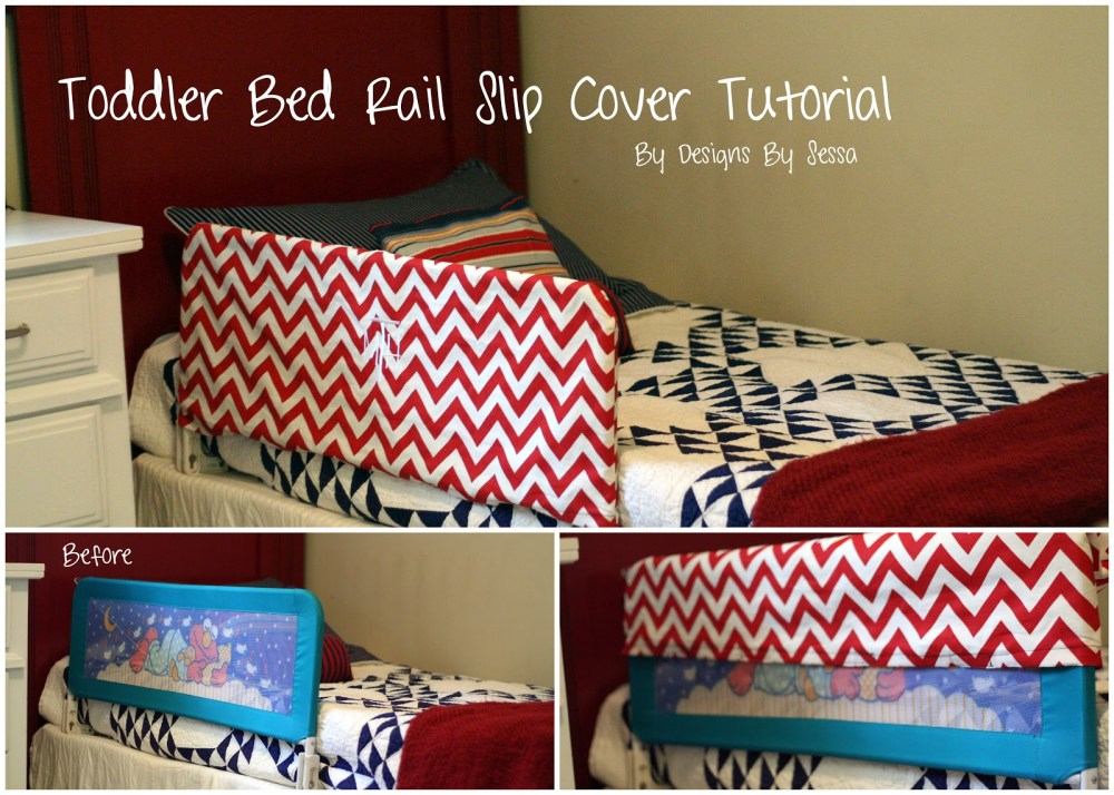 Homemade Toddler Bed Rail