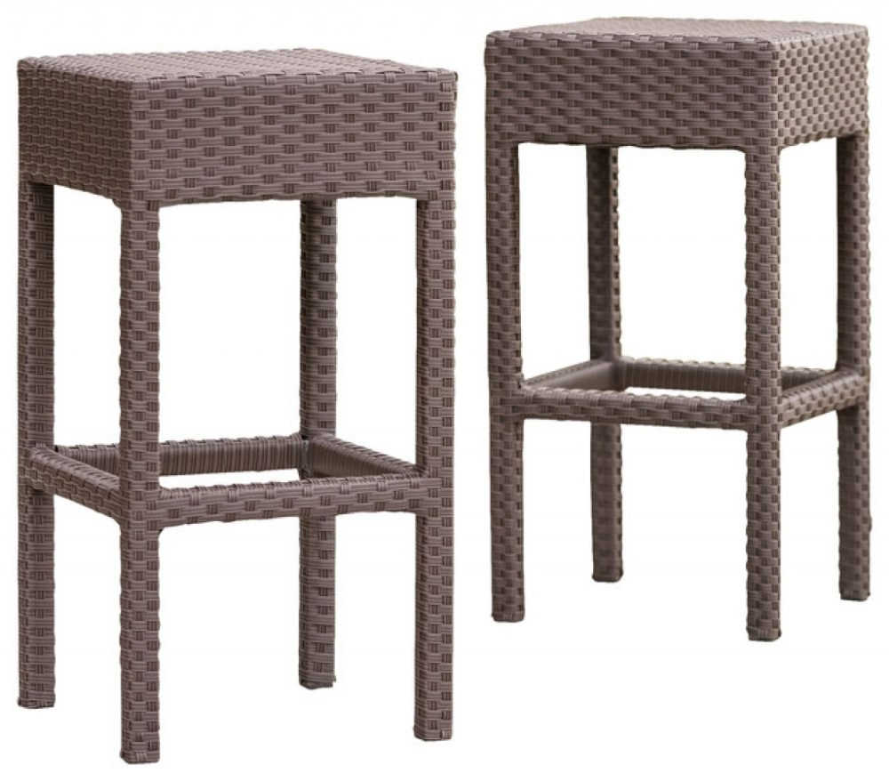 Houzz Wicker Bar Stools