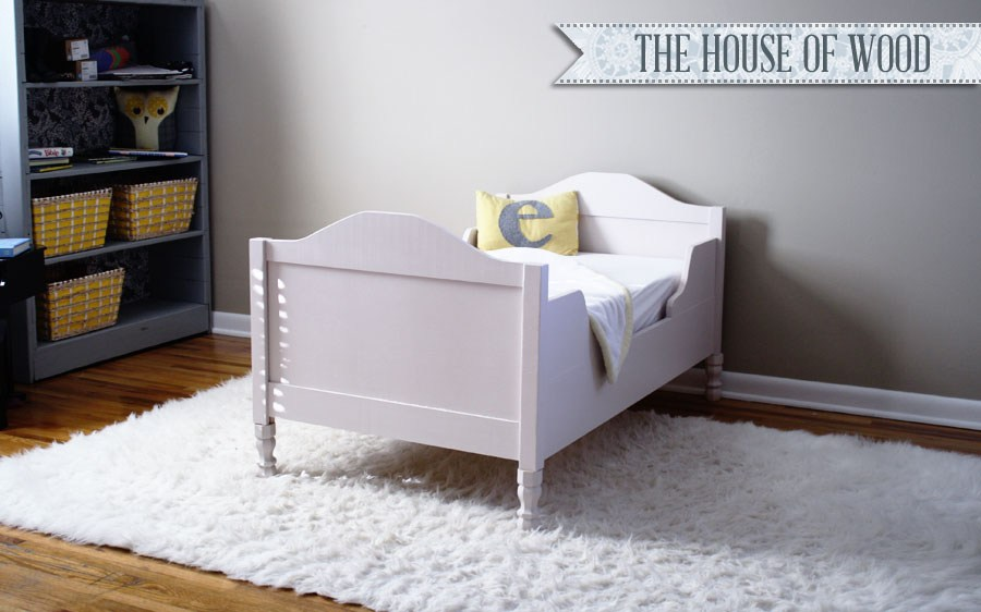 How To Build A Toddler Bed Plans
