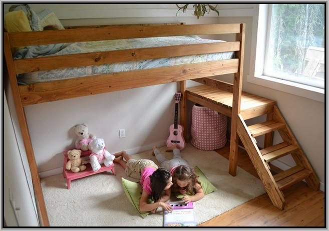 Ikea Childrens Reversible Loft Bed