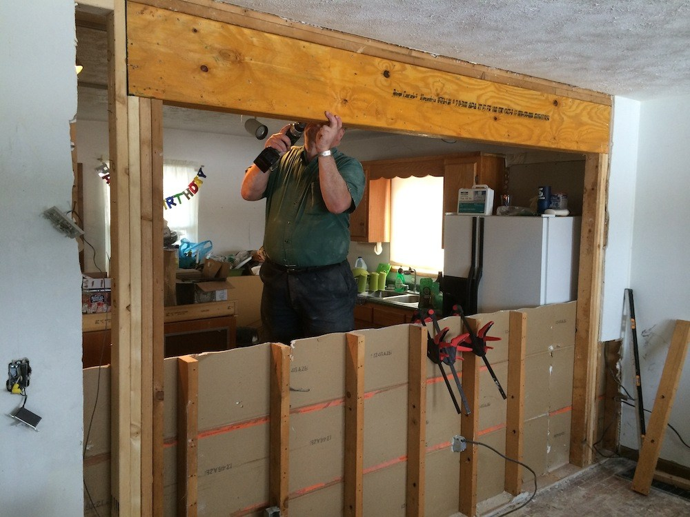 Install Medicine Cabinet Load Bearing Wall