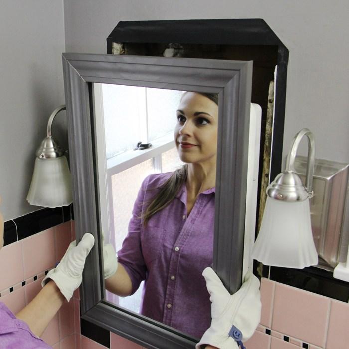 Install Medicine Cabinet