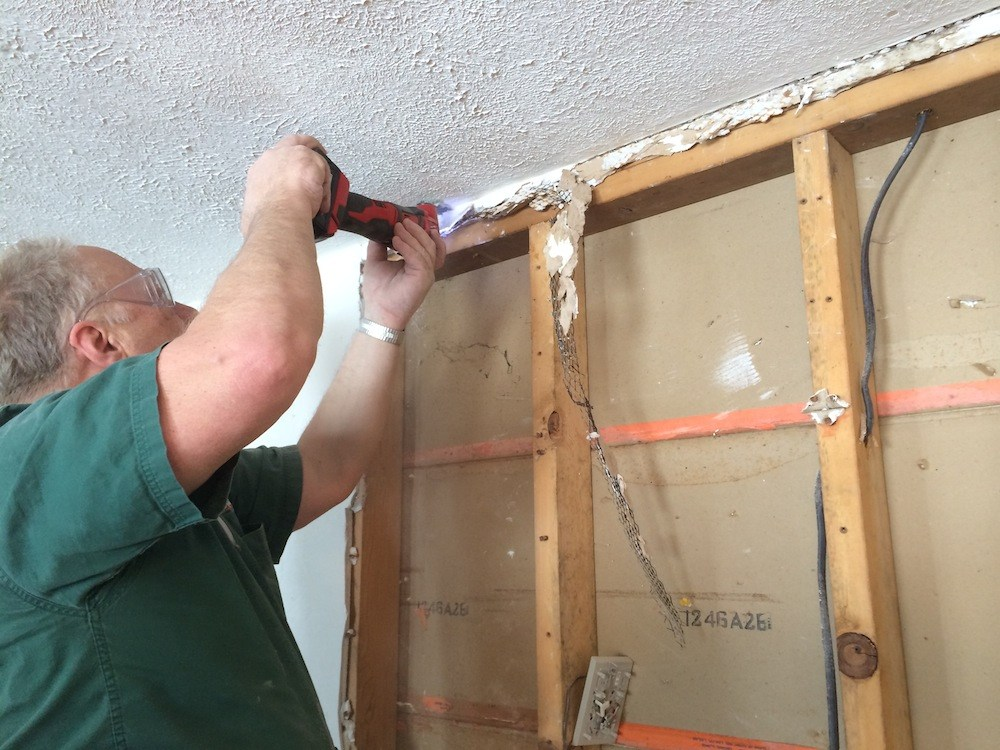 Installing Recessed Medicine Cabinet In Load Bearing Wall