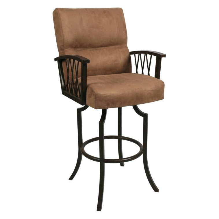 Iron Bar Stools With Arms