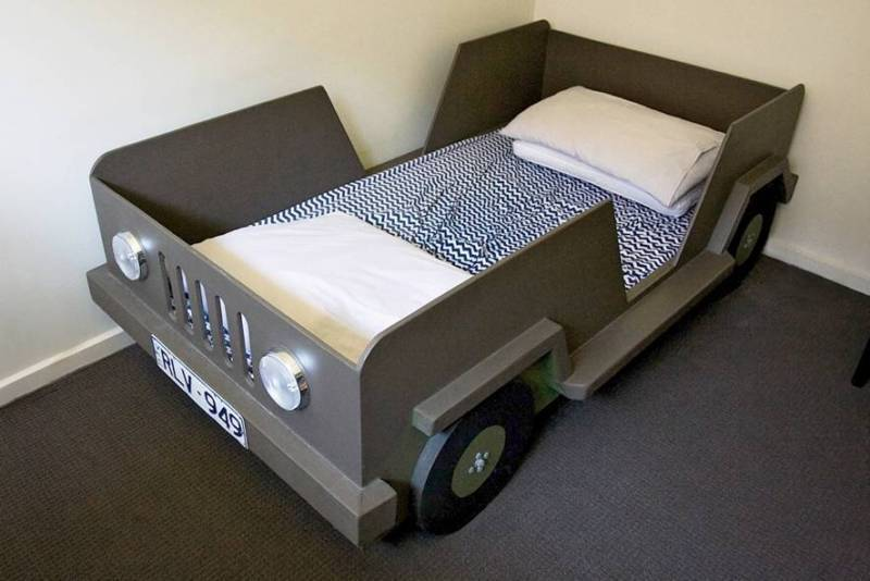 Jeep Toddler Bed Australia