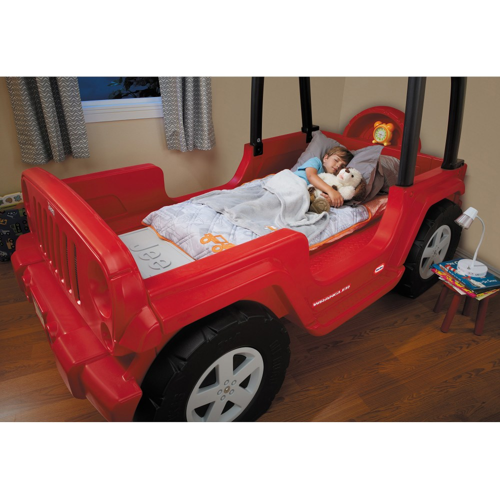 Jeep Toddler Bed Red