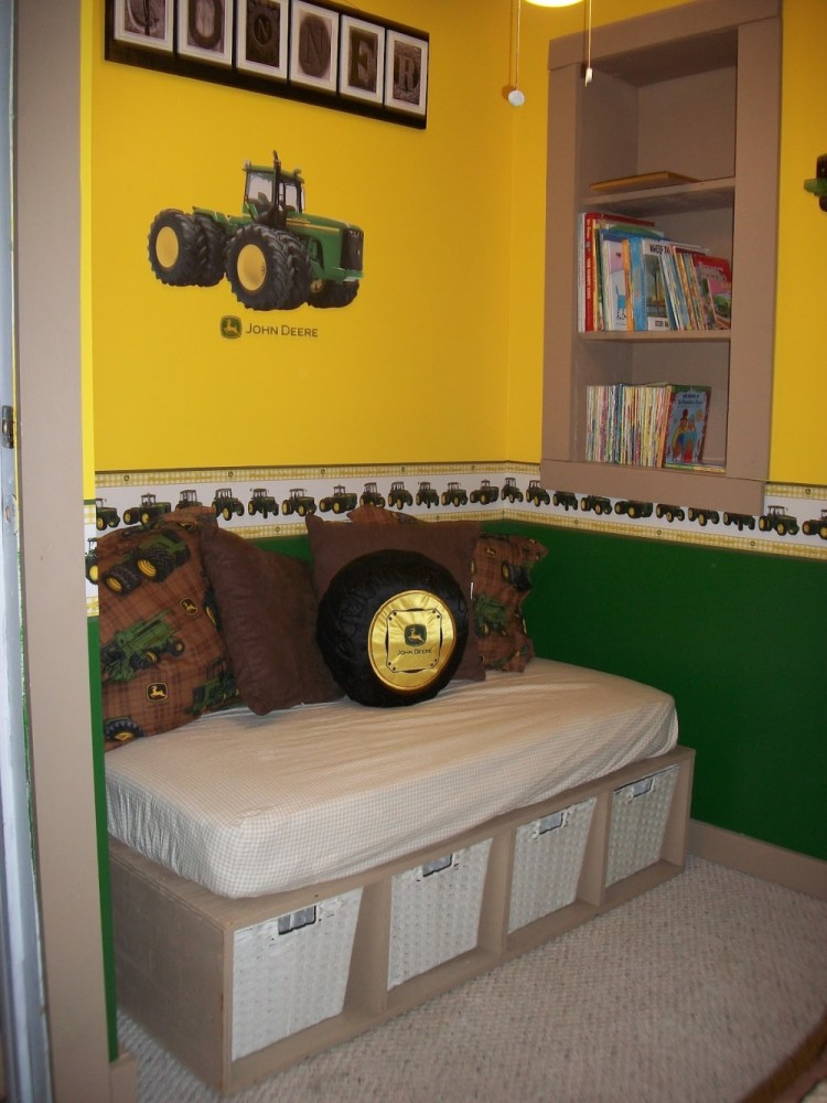 John Deere Toddler Bedroom