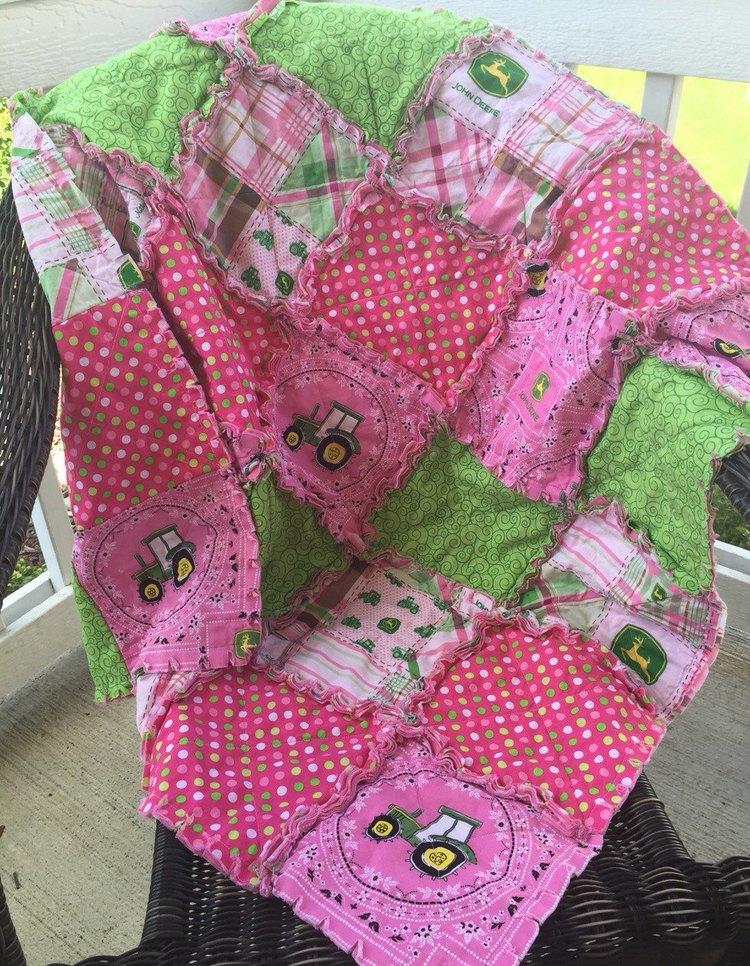 John Deere Toddler Quilt