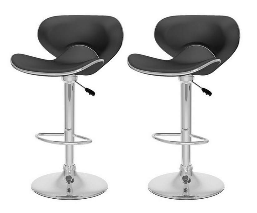 Julien Leather Bar Stool Canada