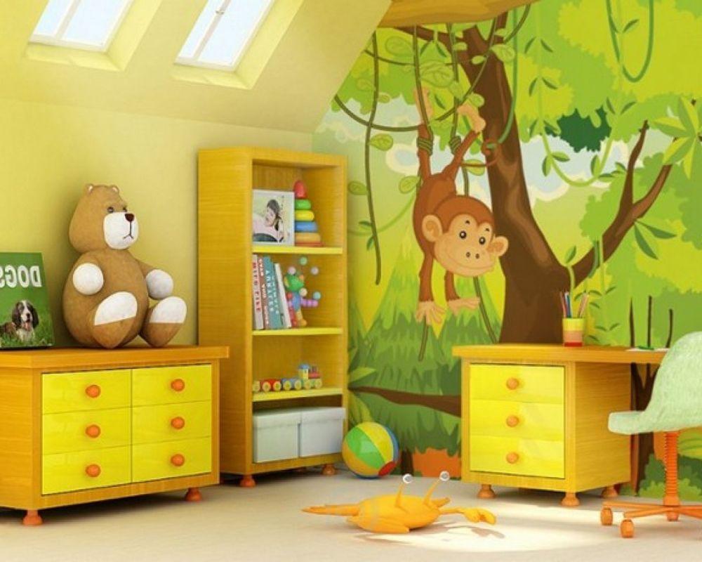 Jungle Toddler Bedroom