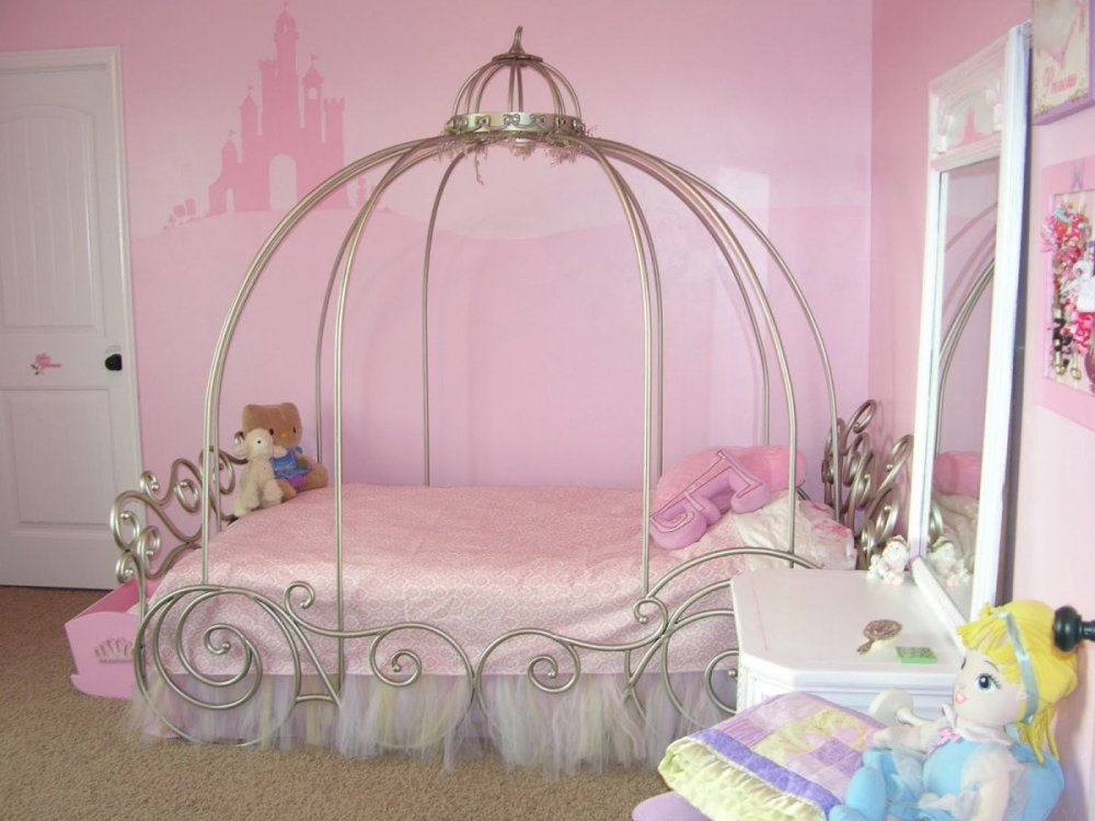Kid Bed With Canopy