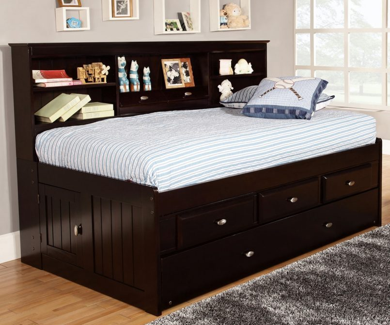 Kid Bed With Trundle