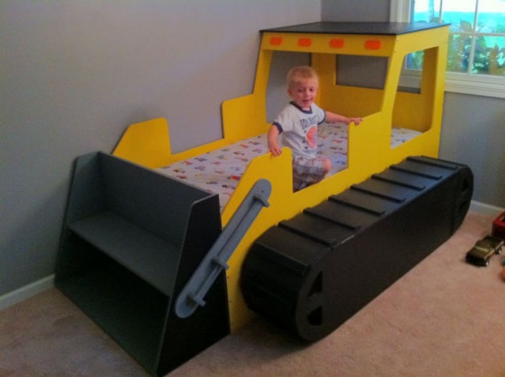 Kid Tractor Bed