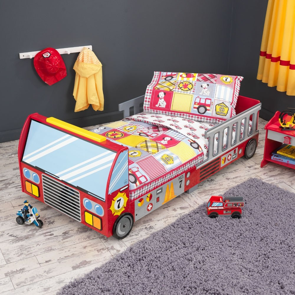 Kidkraft Firetruck Toddler Bed Canada