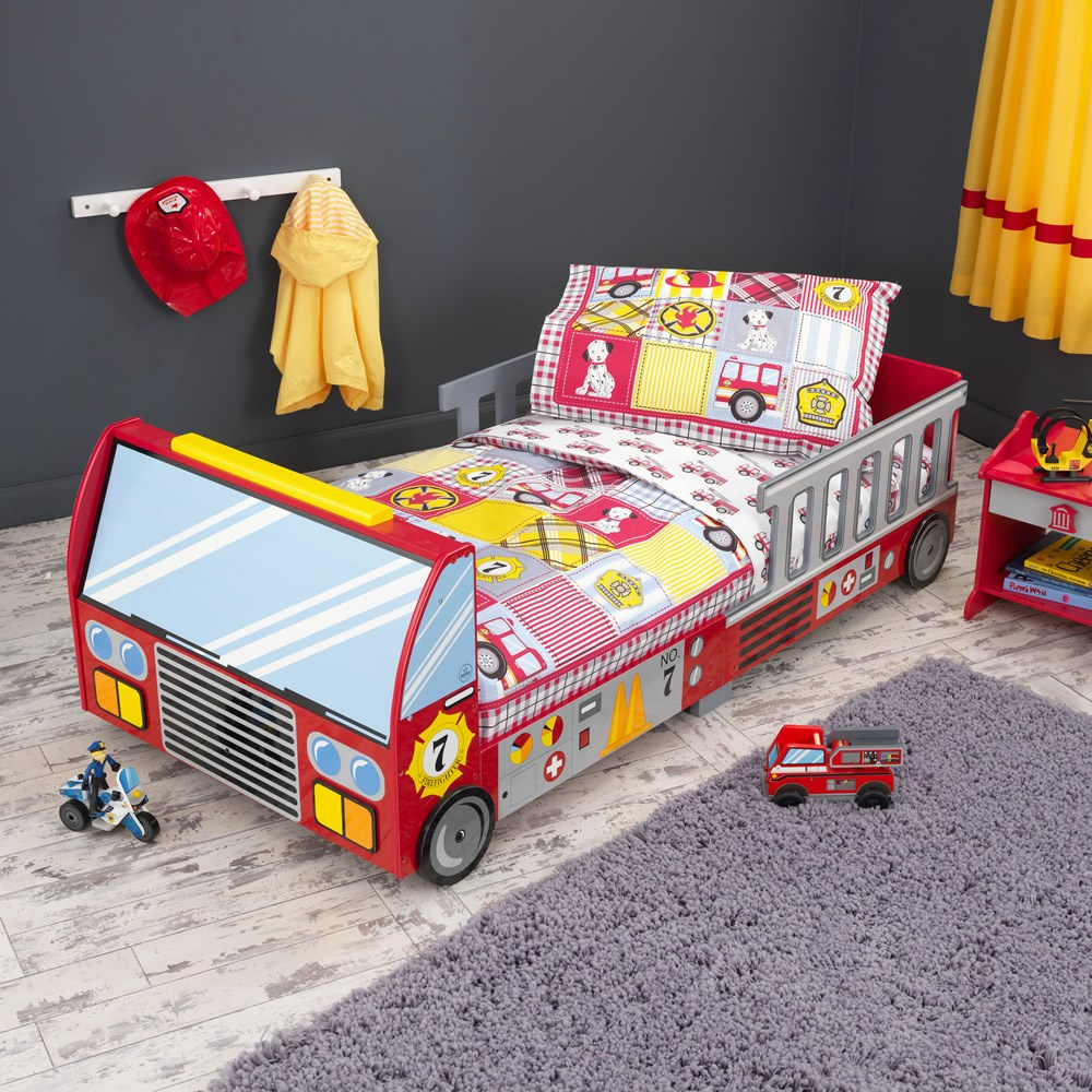 Kidkraft Firetruck Toddler Bed Instructions