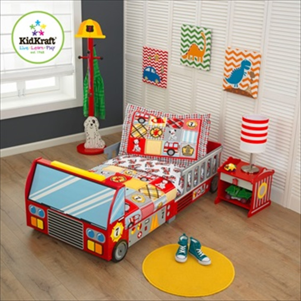Kidkraft Firetruck Toddler Bed Mattress